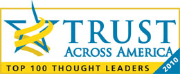 Top 100 Thought Leader, 2010, Trust Across America